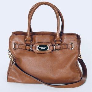 Michael Kors Hamilton Leather Bag